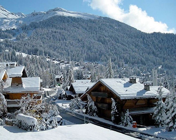 The stunning location for the No14 chalet in Verbier
