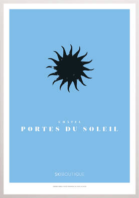 Chatel Ski Poster - SkiBoutique