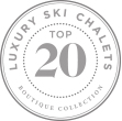 SkiBoutique's top 20 luxury chalets collection logo