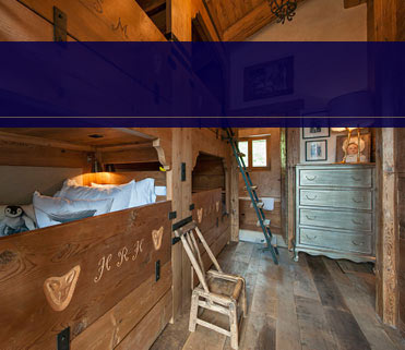 Children's luxury bunkroom Verbier