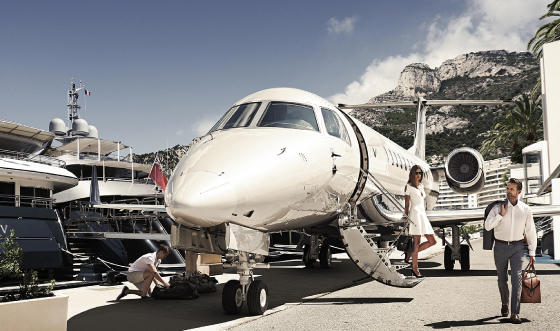 Private jet flights - Victor