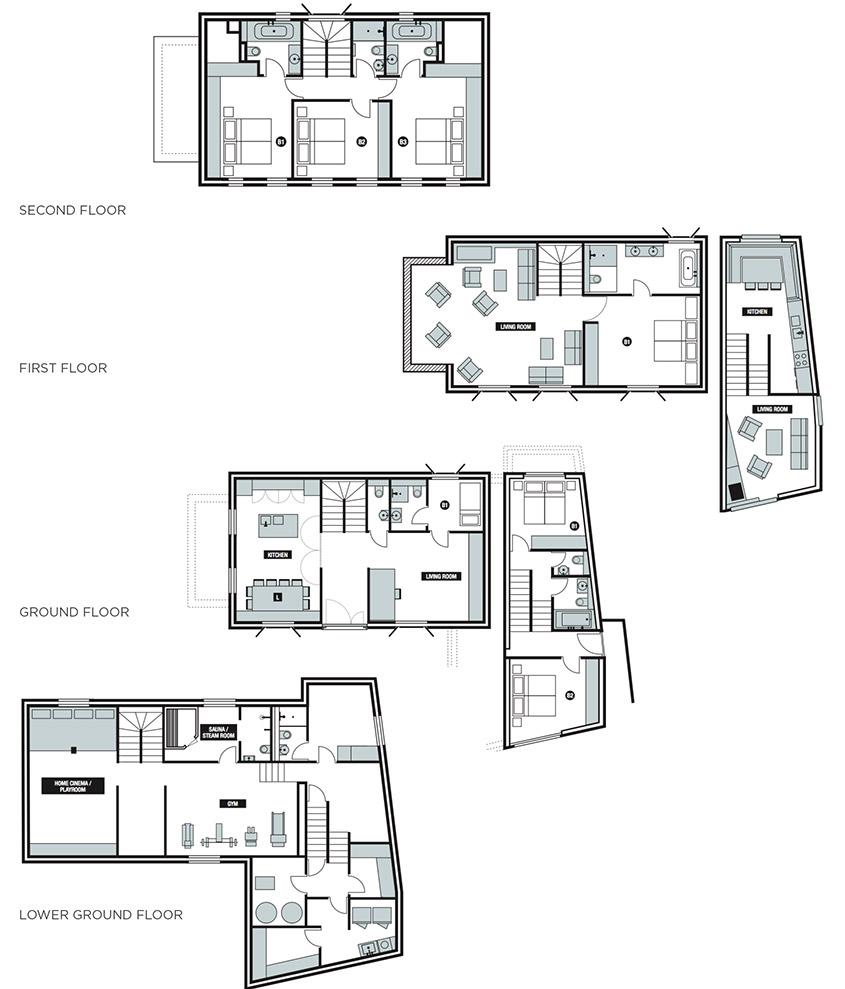 Homes By Marco Floor Swiss Chalet Floor Plans