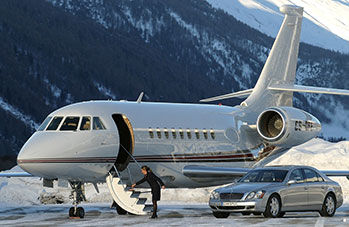 Let the Plane take the strain, transfer by private jet, the ultimate