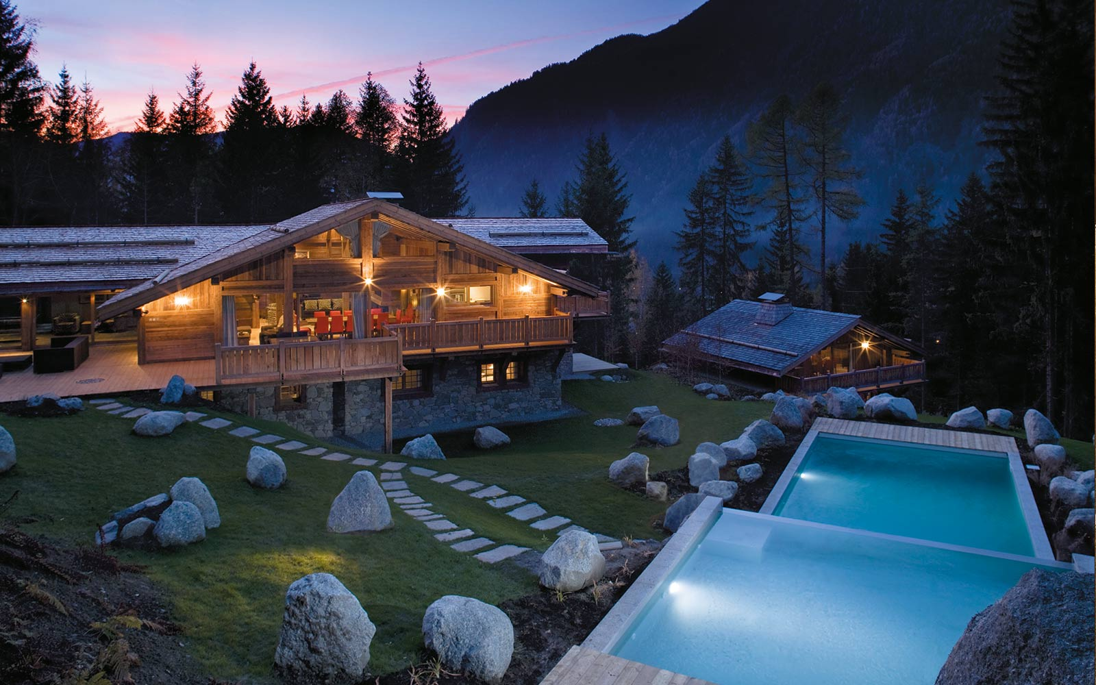 Chalet Amazon Creek In Chamonix By Skiboutique