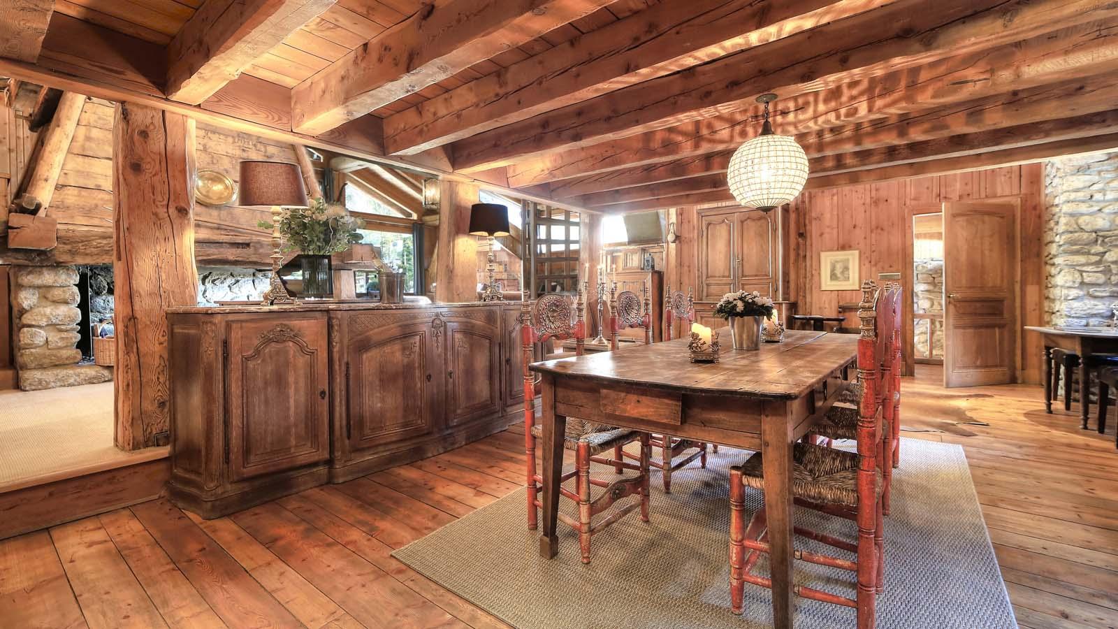 table bois ferme. Black Bedroom Furniture Sets. Home Design Ideas
