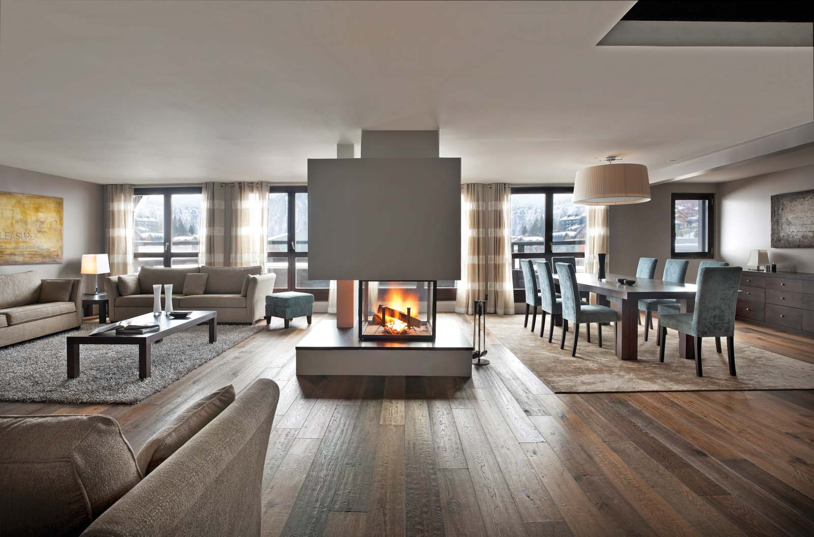 le penthouse in courchevel 1850 by skiboutique. Black Bedroom Furniture Sets. Home Design Ideas