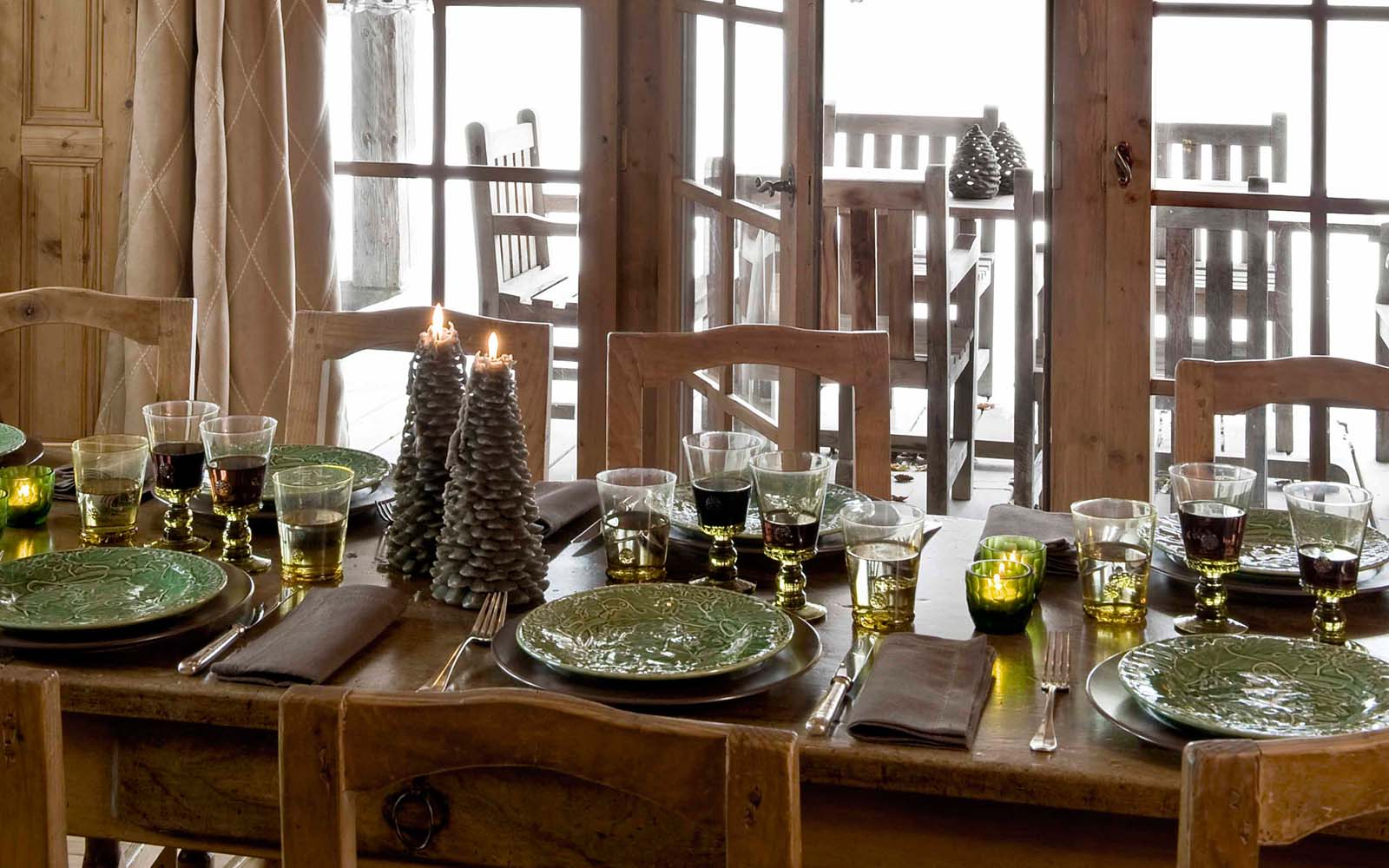 chalet ferme de marie in megeve by skiboutique. Black Bedroom Furniture Sets. Home Design Ideas
