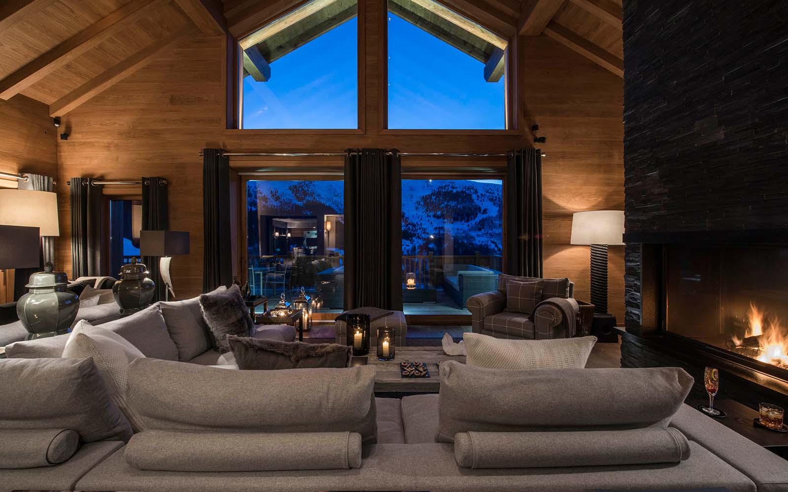 chalet le grenier in meribel by skiboutique. Black Bedroom Furniture Sets. Home Design Ideas