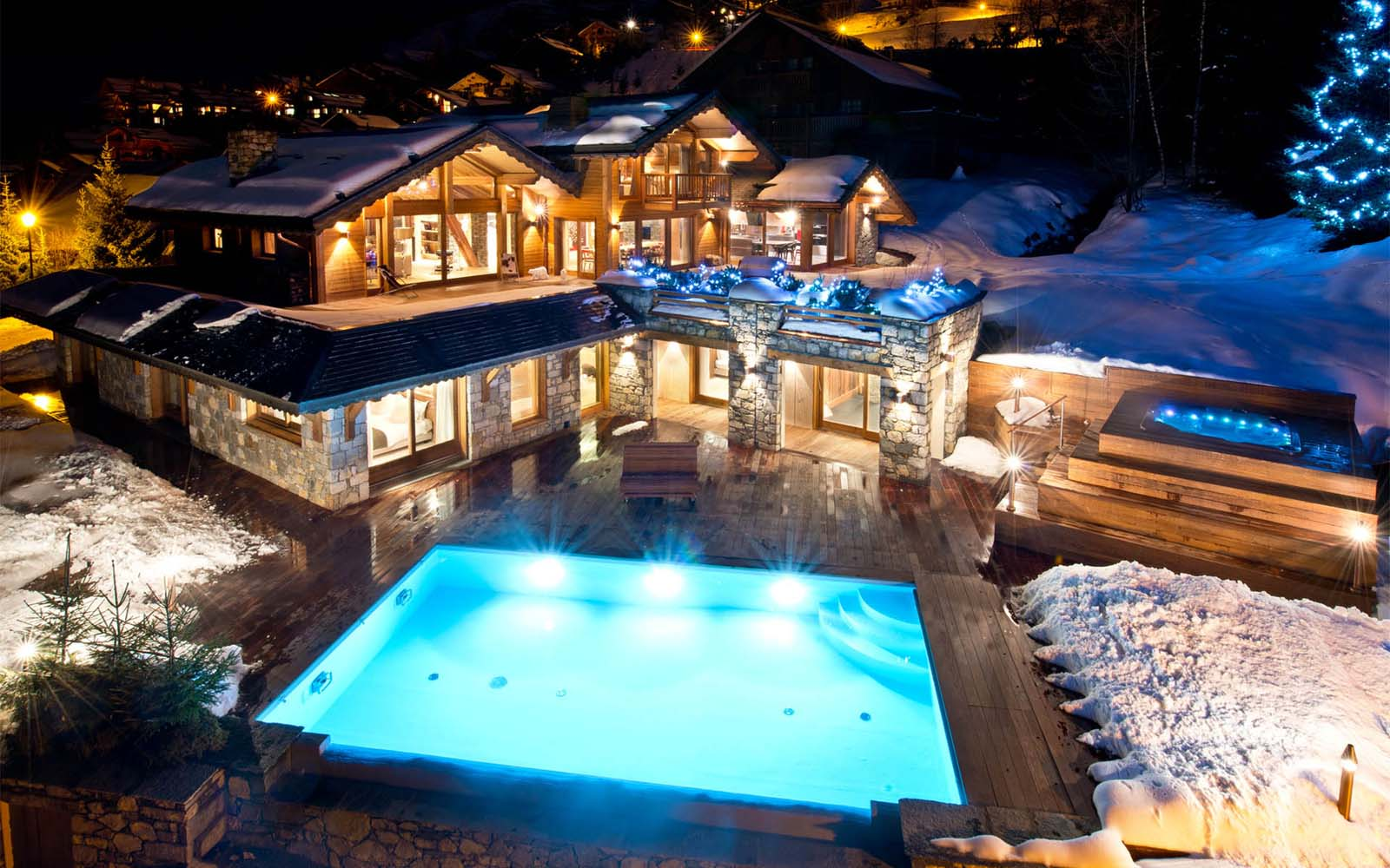 Infinity Pool Cost >> Chalet Mont Tremblant in Meribel - by SkiBoutique