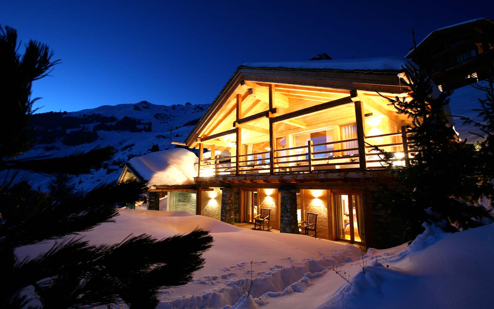 Chalet spa verbier in verbier by skiboutique for Disegni di chalet svizzeri