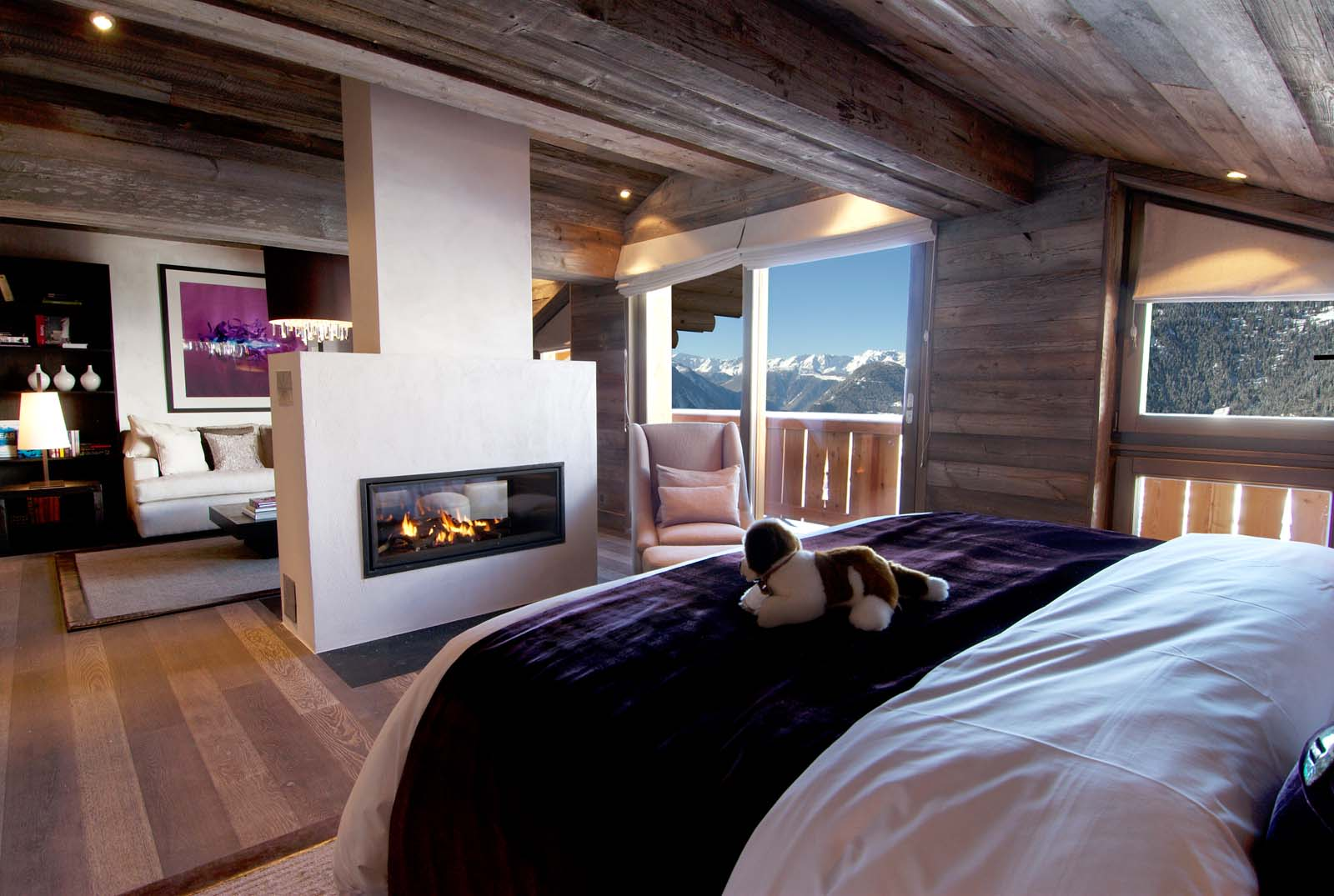 Lodge Bedroom The Lodge In Verbier By Skiboutique