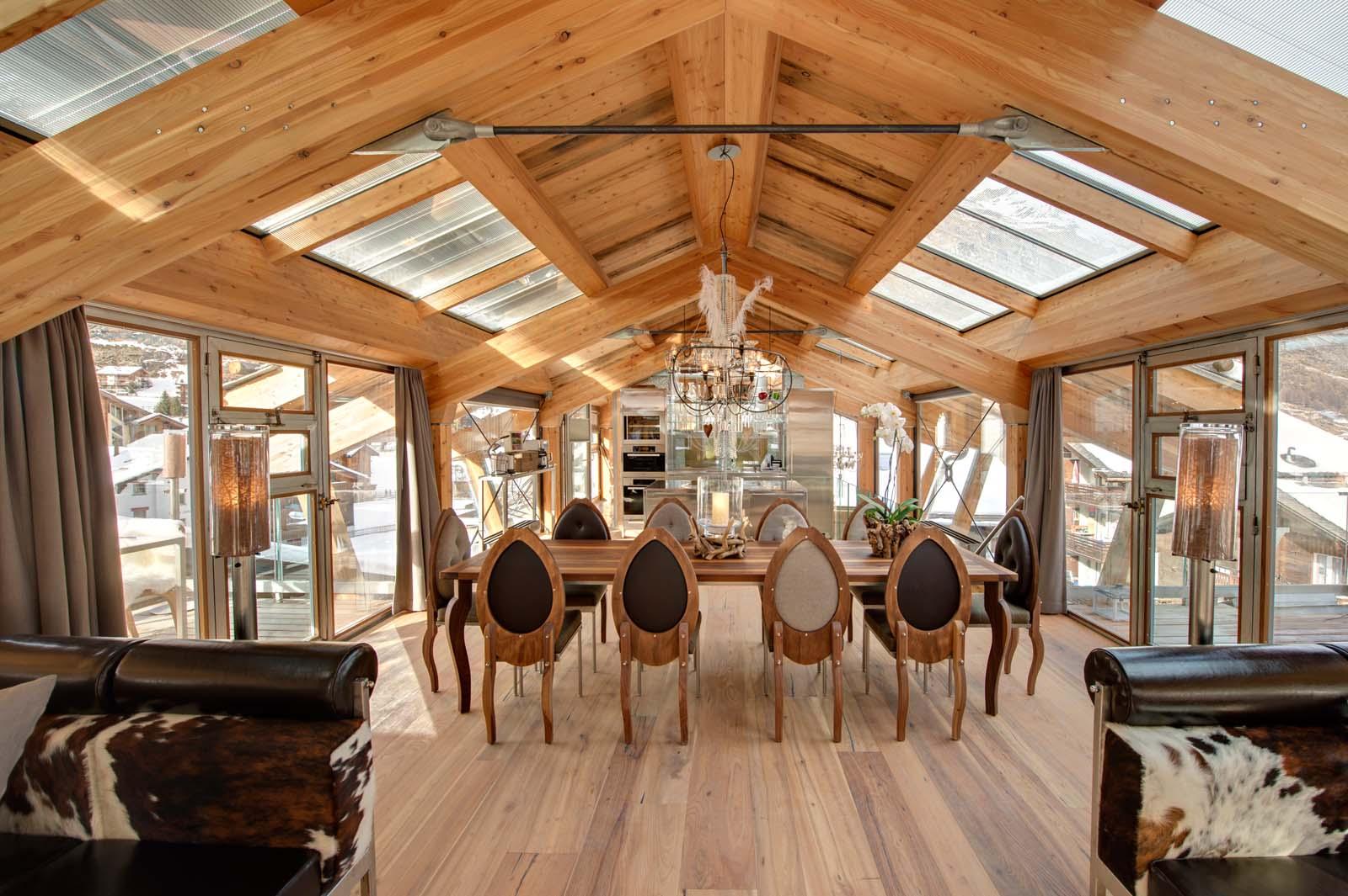 backstage chalet in zermatt by skiboutique. Black Bedroom Furniture Sets. Home Design Ideas