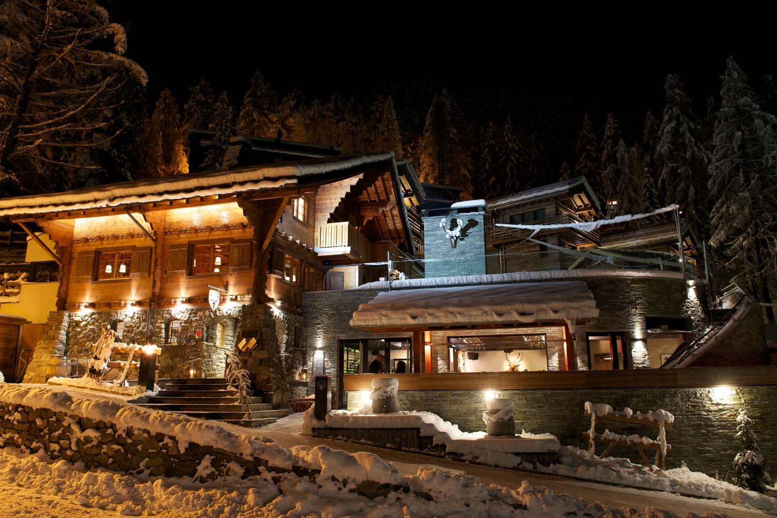 Chalet cervo in zermatt by skiboutique for Boutique skihotel