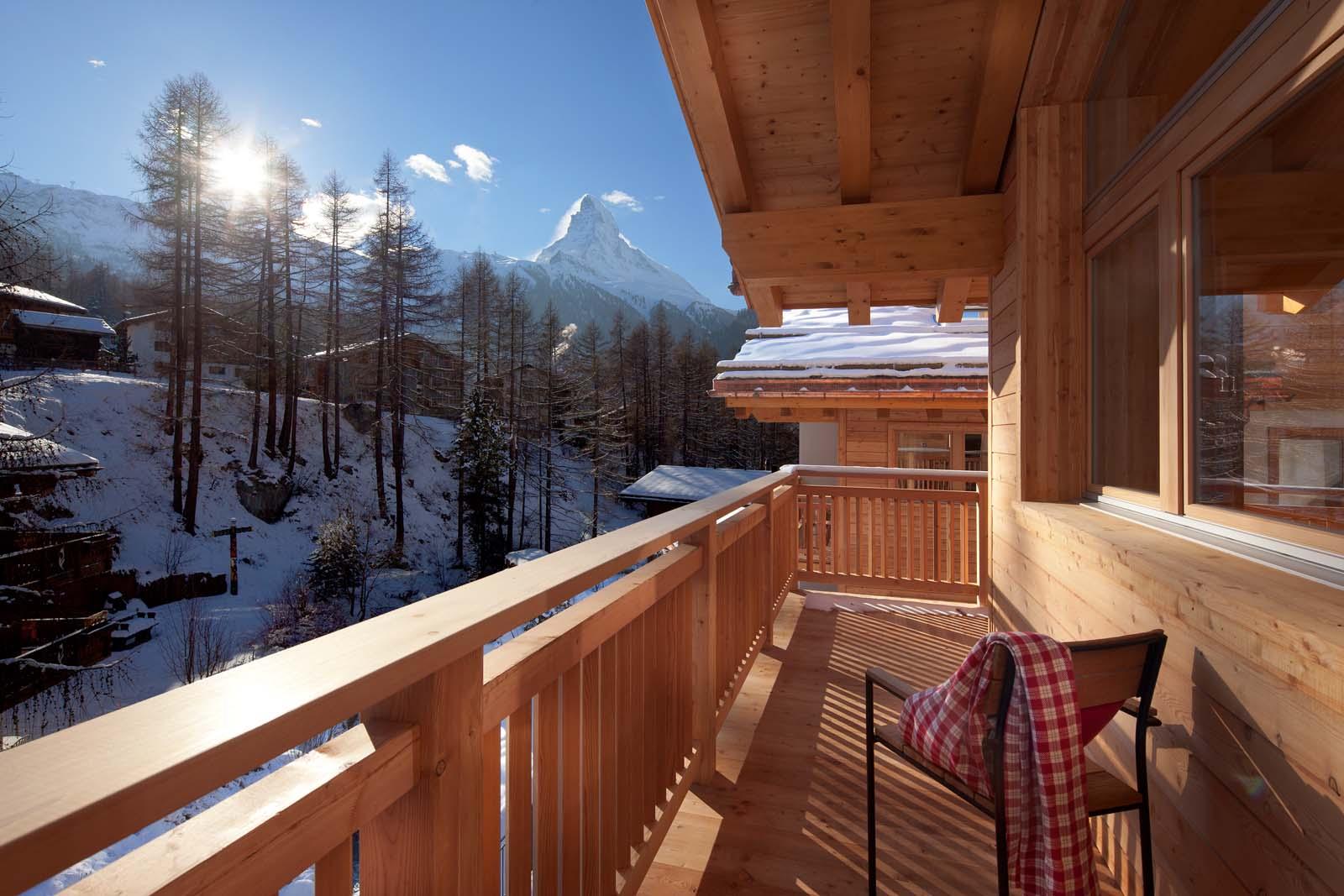 Chalet binna in zermatt by skiboutique for Boutique skihotel