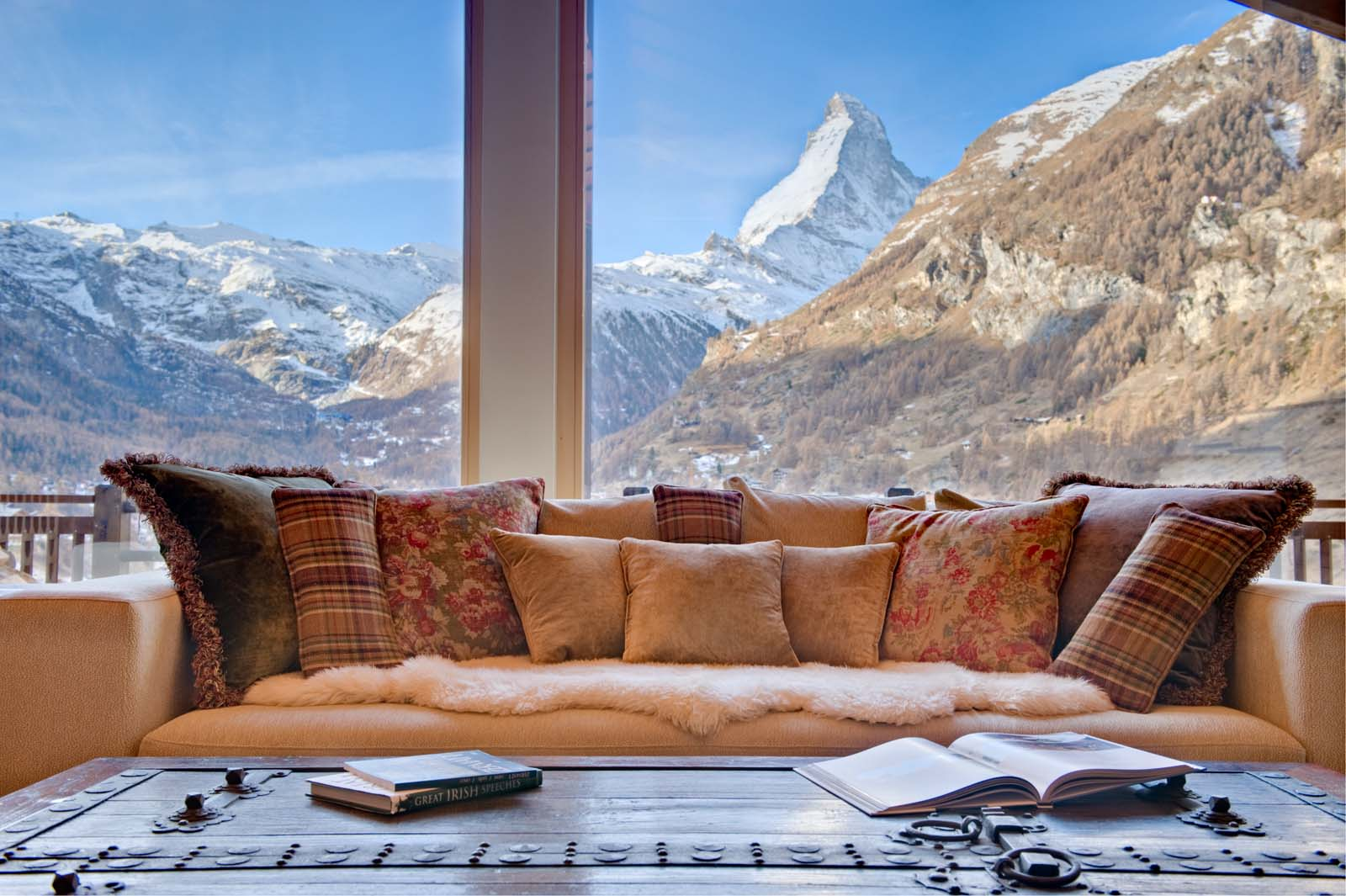Chalet grace in zermatt by skiboutique for Design hotel ski